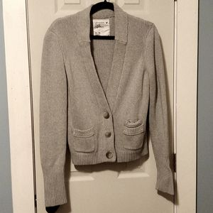 American Eagle Knit Button Front Cardigan